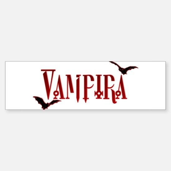 Vampira Bumper Bumper Bumper Sticker