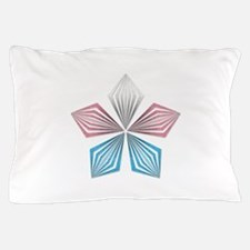 Transgender Pride Starburst Pillow Case