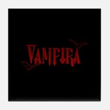 Vampira Tile Coaster