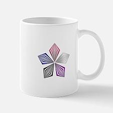Gender Fluid Pride Starburst Mugs