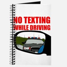 No Texting While Driving Journal