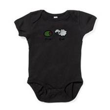Cute Olive Baby Bodysuit