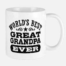 World's Best Great Grandpa Ever Mug