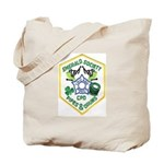 Chicago PD Pipes & Drums Tote Bag
