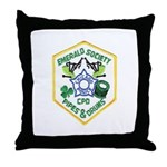 Chicago PD Pipes & Drums Throw Pillow