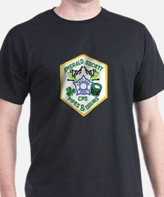 Chicago PD Pipes & Drums T-Shirt