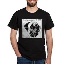 Cute Mastiff christmas T-Shirt