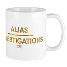 Jessica Jones Alias Investigations Logo Light Mugs