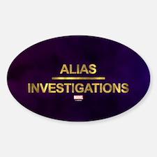 Jessica Jones Alias Investigations Logo Fu Decal