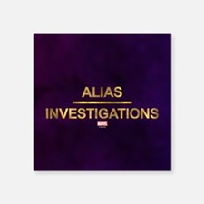 Jessica Jones Alias Investigations Logo Fu Sticker