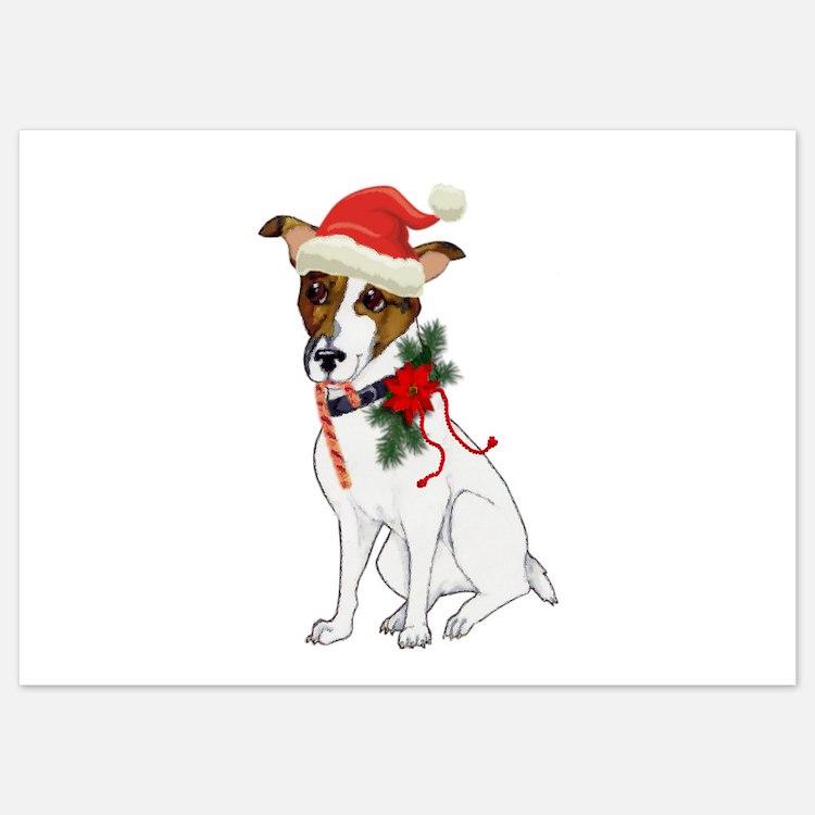 Jack Russell Christmas Invitations