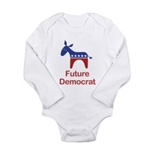 Cute Political Long Sleeve Infant Bodysuit
