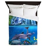 Dolphin Queen Duvet Covers