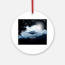 Fidelity Ufo (pleiadian Soul) Round Ornament