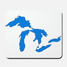 Great Lakes Usa Amerikan Big Water Resou Mousepad