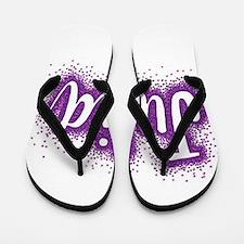 Glitter Julia Flip Flops