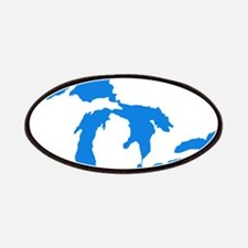 Great Lakes Usa Amerikan Big Water Resources Patch