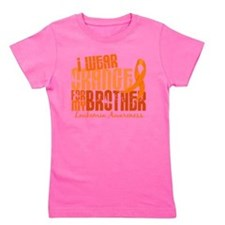 Cute I wear orange ribbon for my son in law Girl's Tee