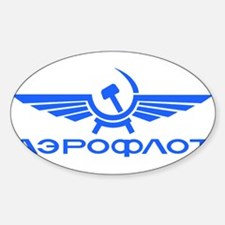 Aeroflot Russian Airlines Flights Decal