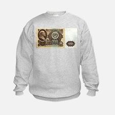 Ruble Soviet Communist currency Sweatshirt