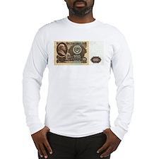 Ruble Soviet Communist currenc Long Sleeve T-Shirt