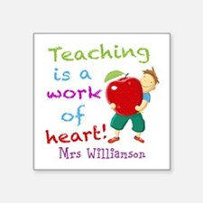 Inspirational Teacher Quote Sticker