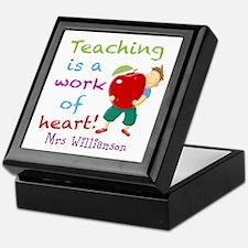 Inspirational Teacher Quote Keepsake Box
