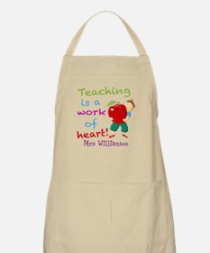 Inspirational Teacher Quote Apron