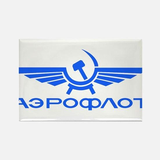Aeroflot Russian Airlines Flights Magnets