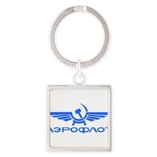 Aeroflot Russian Airlines Flights Keychains