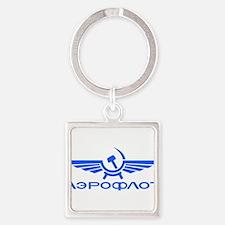 Aeroflot Russian Airlines Flights Keychains