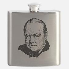 Sir Winston Leonard Spencer-Churchill Britis Flask
