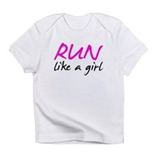 Unique Women running Infant T-Shirt
