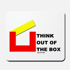 Think Out of The Box Mousepad