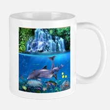 The Dolphin Family Mugs