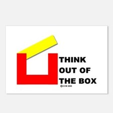 Think Out of The Box Postcards (Package of 8)