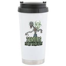Cute Walking dead blood logo walking dead Travel Mug