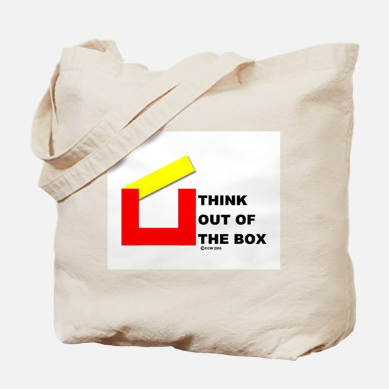 Think Out of The Box Tote Bag