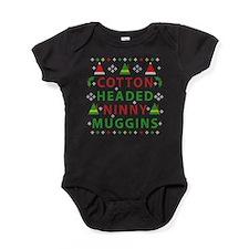 Elf Cotton Headed Ninny Muggins Ugly Baby Bodysuit