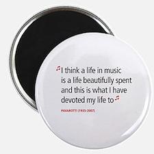 """Opera Pavarotti 2.25"""" Magnet (10 pack)"""