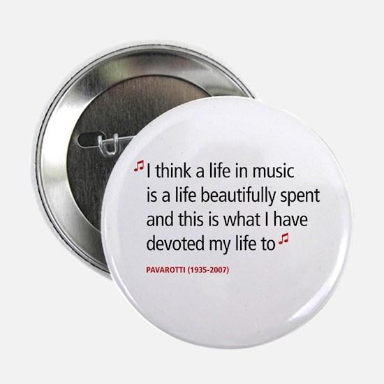 Opera Pavarotti Button