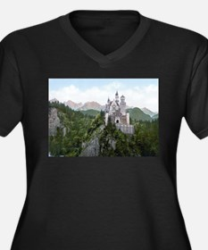 Neuschwanstein Castle Plus Size T-Shirt