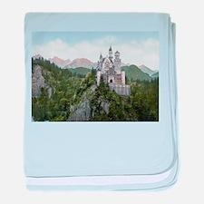 Neuschwanstein Castle baby blanket