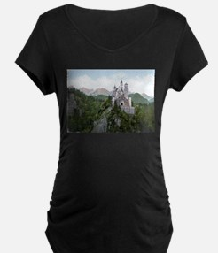 Neuschwanstein Castle Maternity T-Shirt