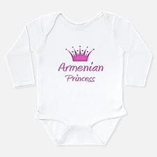 Unique Armenia Long Sleeve Infant Bodysuit