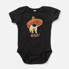 Funny Celebrate cinco de mayo Baby Bodysuit