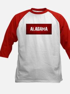 ALABAMA RED and white Baseball Jersey