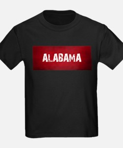 ALABAMA RED and white T-Shirt