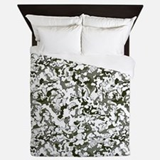 Winter Camouflage Queen Duvet