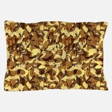 Fall Camouflage Pillow Case